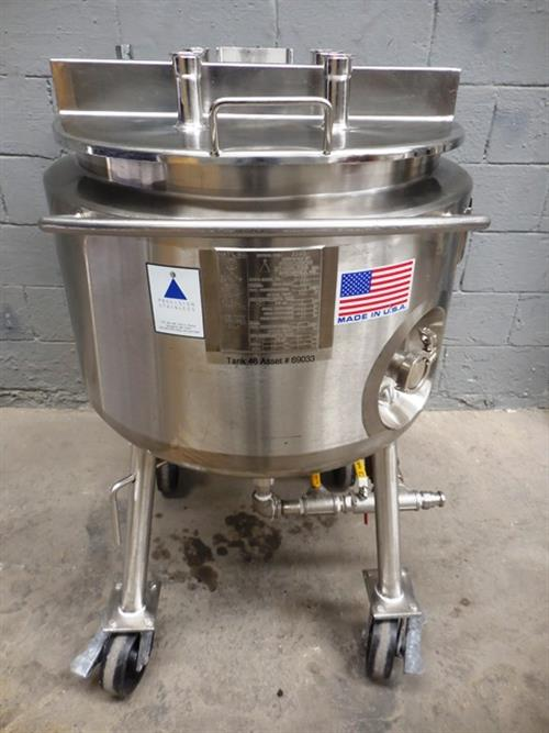 Precision Stainless Steel 30 Gallon Tank