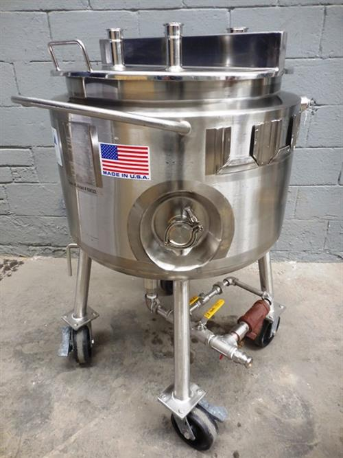 Precision Stainless 50 Gallon Tank