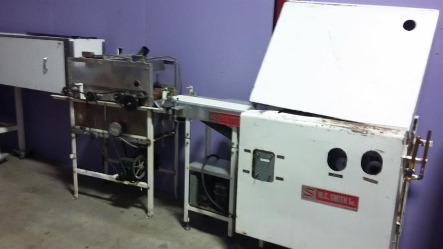 "WC Smith 7"" Pre-Bottomer with 3' Cold Plate with Compressor"