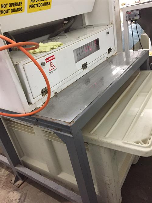 Spectrum model S4001 Color Sorter for Nuts and Seeds
