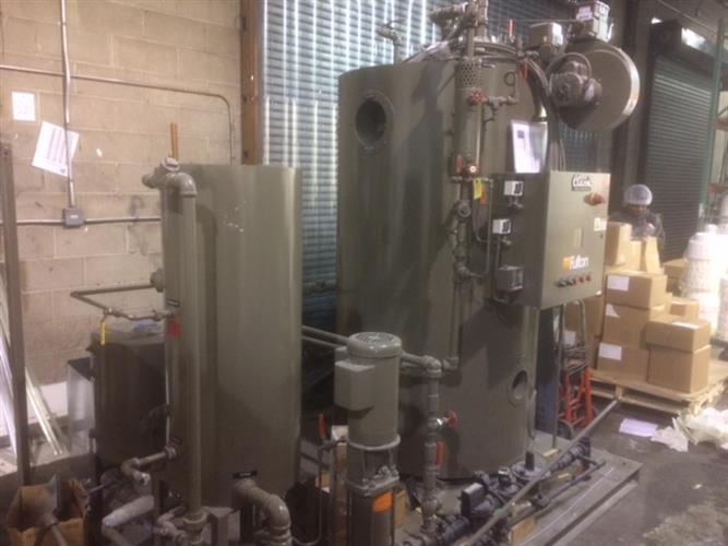 Fulton Model I.C.S. 30HP Skid Mounted Steam Boiler | Processing + ...