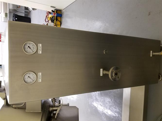 Glass Maschinen model VAS-80 High Shear Mixer